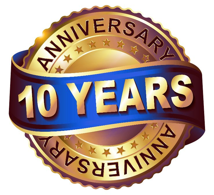 10 Year Anniversary Celebration
